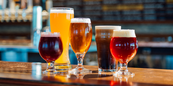 Beer Glasses - use the right glass for the beer you are drinking